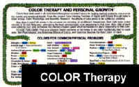 COLOR THERAPY Card: