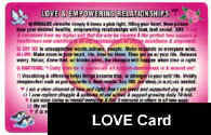 LOVE & EMPOWERING RELATIONSHIPS Card: